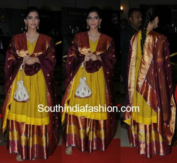 sonam kapoor gaurang shah Lokmat Maharashtra most stylish 2017 600x553