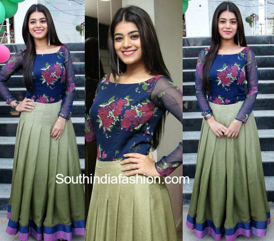 Yamini Bhaskar In A Long Skirt And Floral Top South