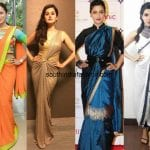 5 Types Of Fusion Sarees To Try Out