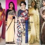 25 Gorgeous Sarees of Samantha