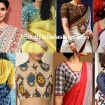 Blouse Patterns For Cotton Sarees This Summer