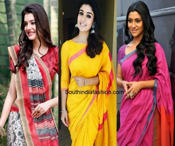 how-to-look-stylish-in-cotton-saree