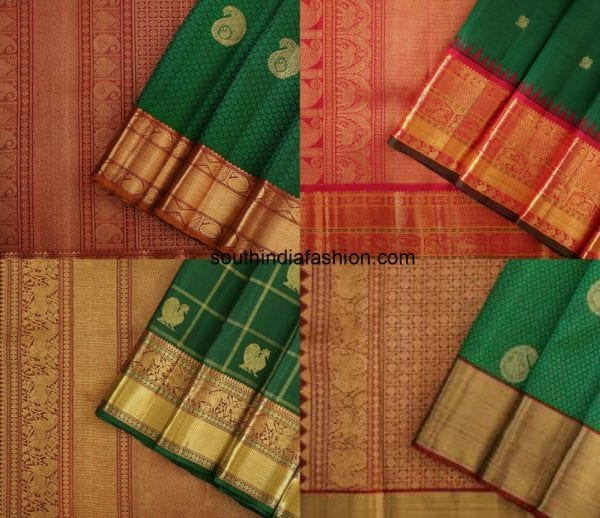 green_with_maroon_kanjeevaram_saree1