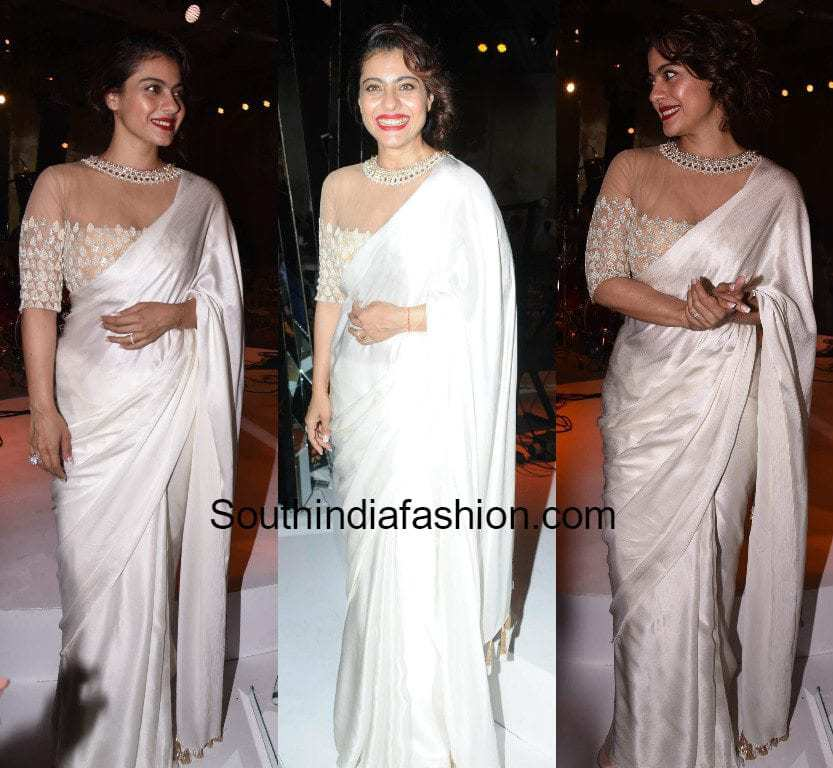 Image result for kajol saree