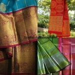 Bridal kanjeevaram Sarees by Kumari Collections