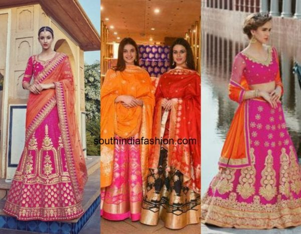 orange_pink_contrast_lehengas (1)