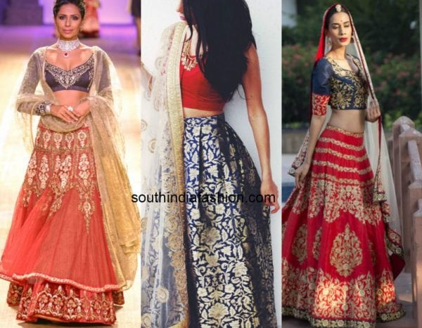 red blue contrast lehengas 1 600x467