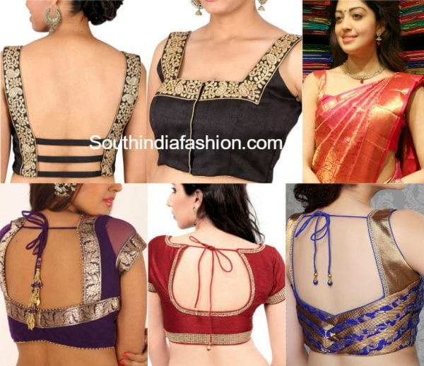 saree-blouse-designs-with-borders