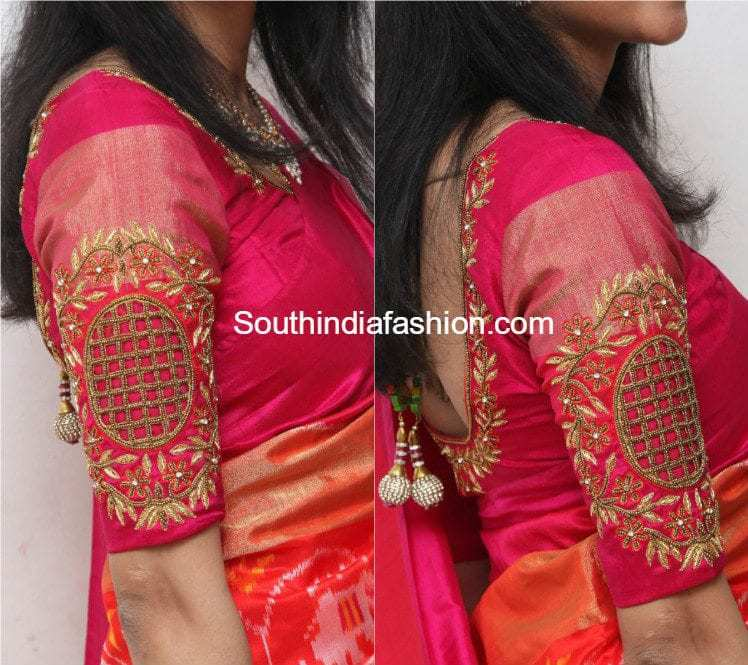 New fashion saree blouses 62