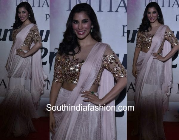 sophie-choudry-manish-malhotra-lehenga-mijwan-fashion-show