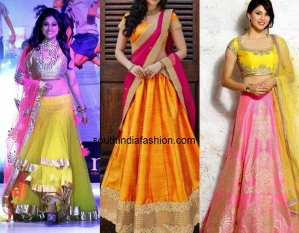 yellow_pink_contrast_lehengas (1)