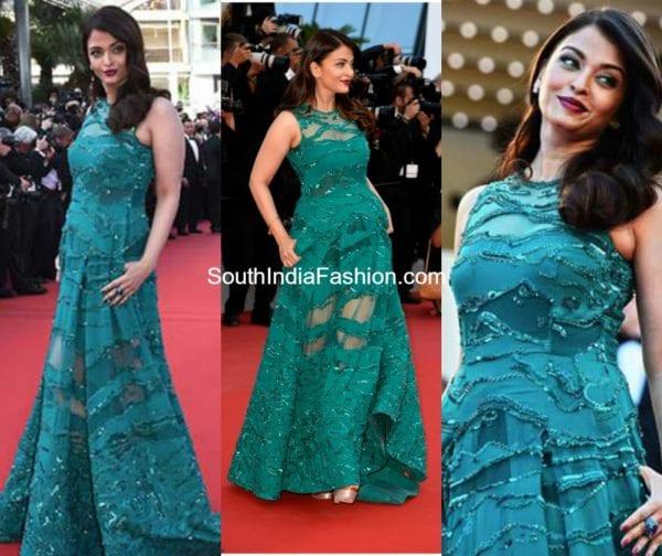 Aishwarya Rai at the Cannes Red Carpet : 5 Best looks !