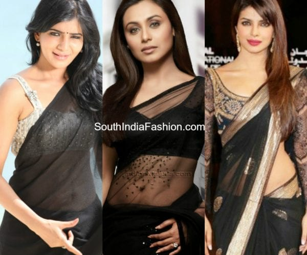 monochrome-traditional-sarees