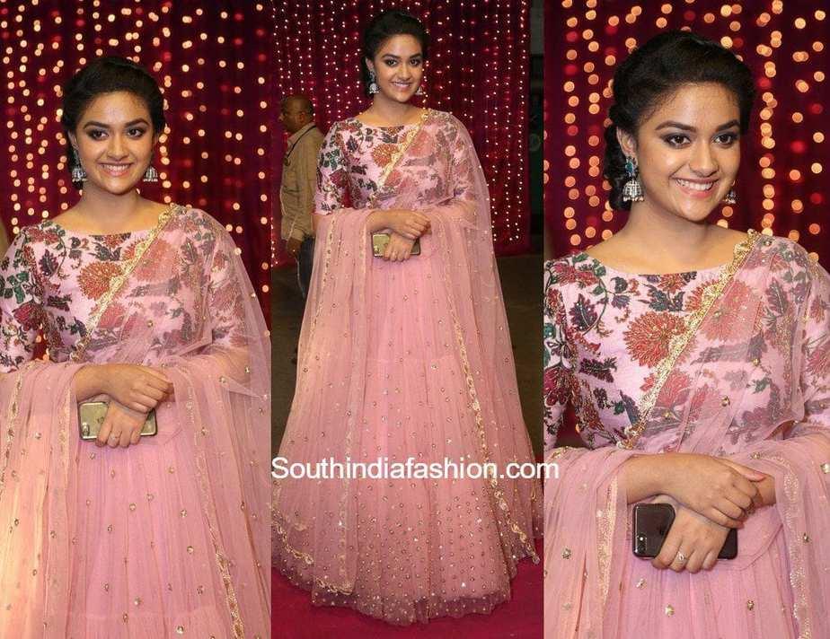 66523c7d06 Keerthy Suresh in Mrunalini Rao – South India Fashion
