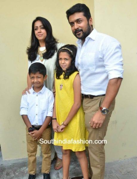 Suriya And Jyothika At Magalir Mattum Audio Launch
