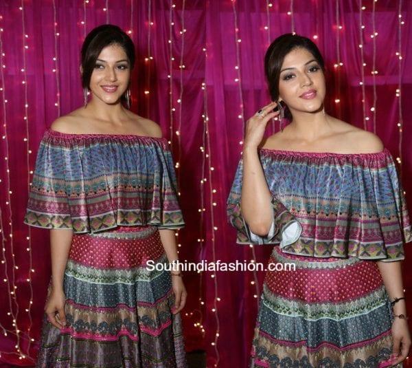 Mehreen Pirzaada in Siddhartha Bansal at Zee Apsara Telugu Awards 2017 1