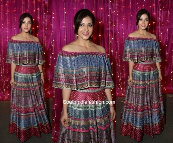 Mehreen Pirzaada in Siddhartha Bansal at Zee Apsara Telugu Awards 2017