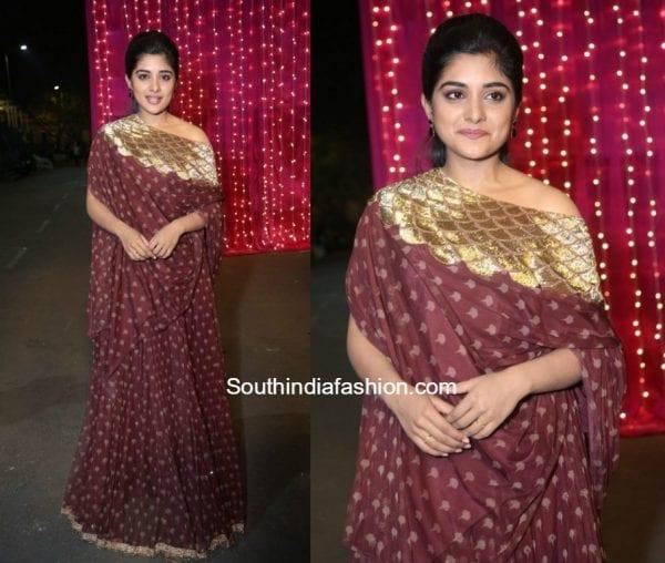 Niveda Thomas at Zee Telugu Apsara Awards 1