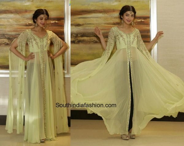 Pranitha Subhash in Pratyusha Garimella at Ugadi event in Dubai