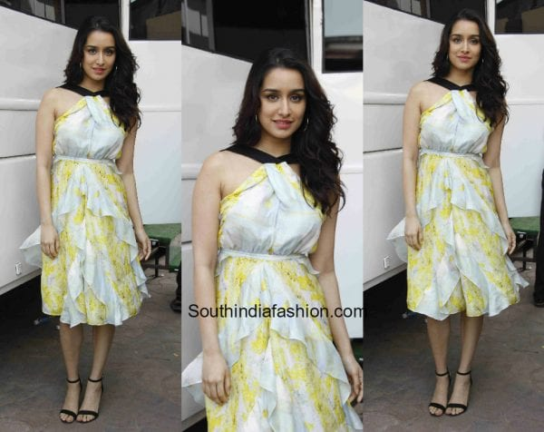 Sharddha Kapoor in H&M for Half Girfriend promotions