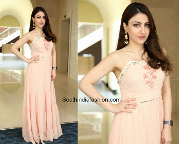 Soha Ali Khan in AND at a recent event