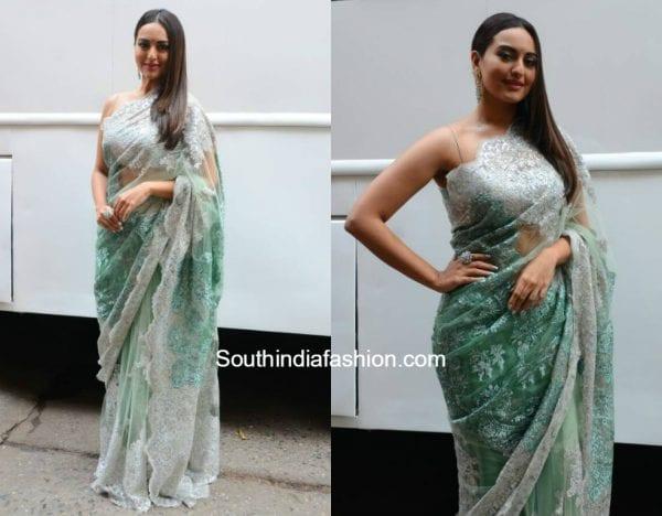 Sonakshi Sinha in Shehlaa Khan at Nach Baliye Show 1