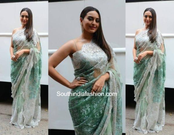 Sonakshi Sinha in Shehlaa Khan at Nach Baliye Show