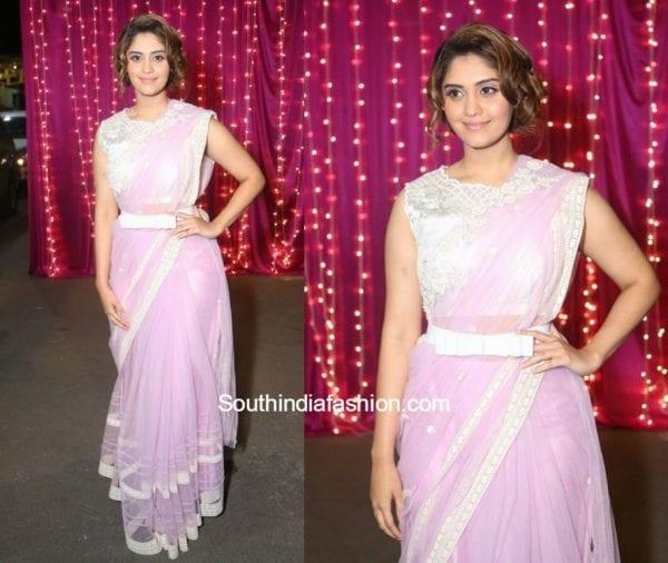 Surbhi in Archana Rao at Zee Apsara Telugu Awards 2017