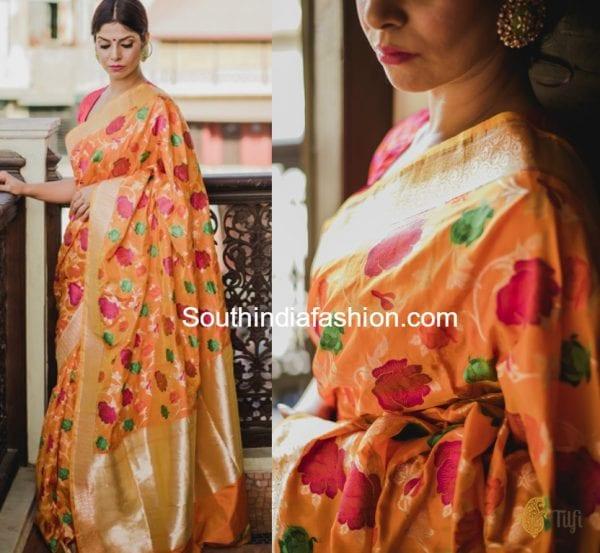 banaras silk sarees 600x553