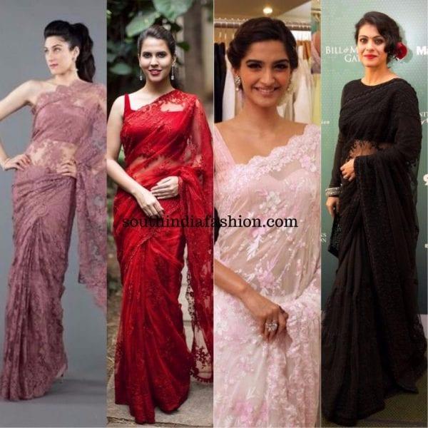 lace sarees 600x600