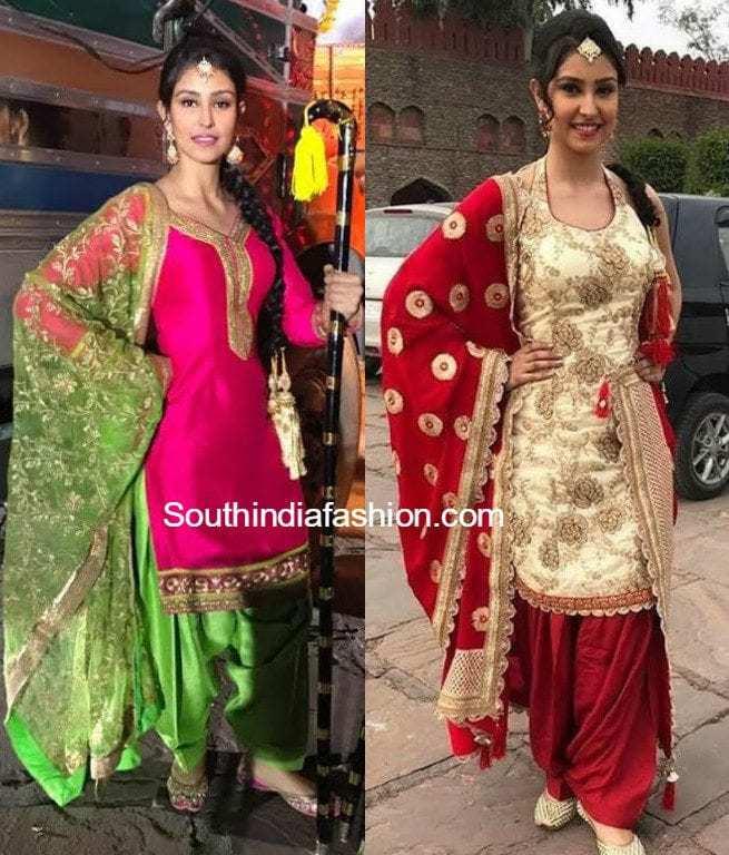 Designer Punjabi Outfits By Bharti Khanna Of Aaryaa