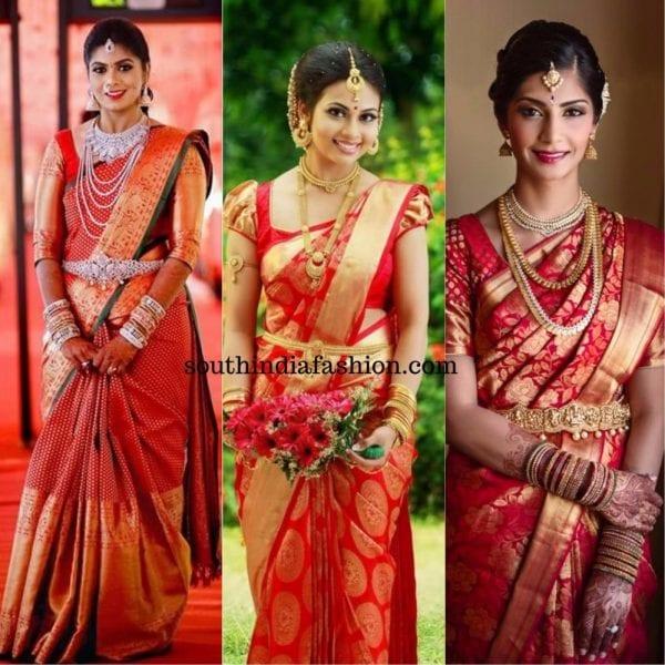 red_kanjeevaram_bridal_saree