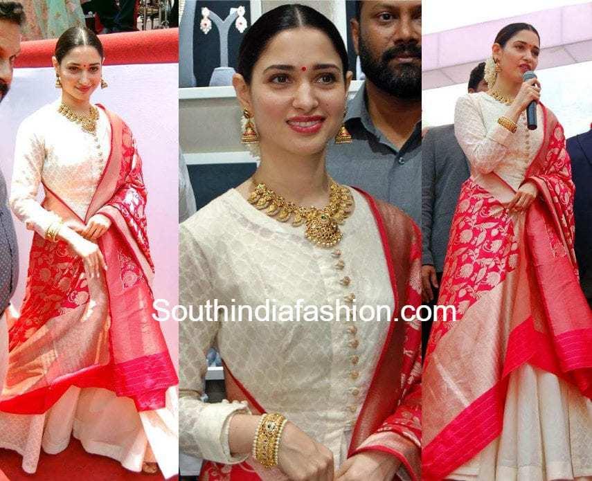 Tamannaah Bhatia In Matsya South India Fashion