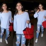 Alia Bhatt's Casual Look