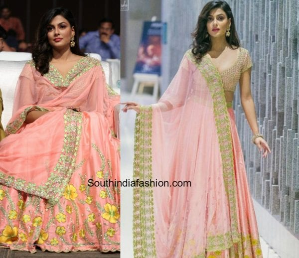 Anisha Ambrose in Divya Reddy at Fashion Designers On Of Ladies Tailor Audio Pre Release Event Launch 1