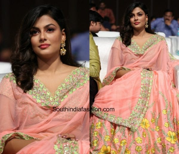 Anisha Ambrose in Divya Reddy at Fashion Designers On Of Ladies Tailor Audio Pre Release Event Launch