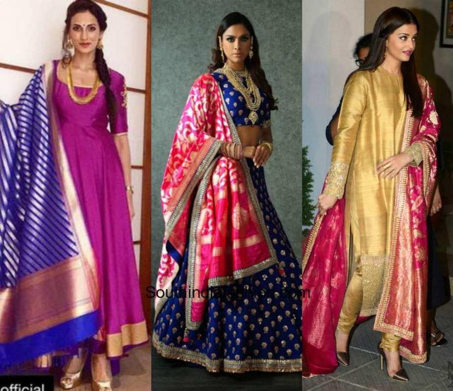 Designer Dupattas Online India