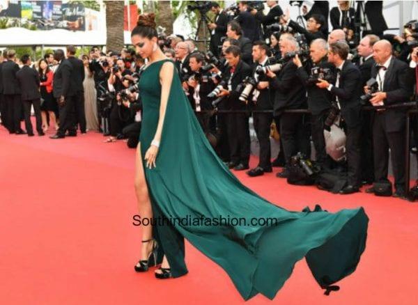 Deepika Padukone in Brandon Maxwell at Cannes 3