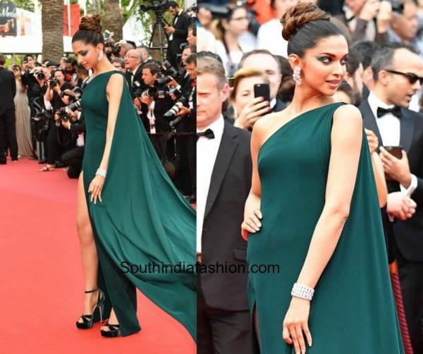 Deepika Padukone in Brandon Maxwell at Cannes