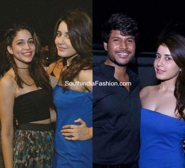 rashi-khanna-in-blue-off-shoulder