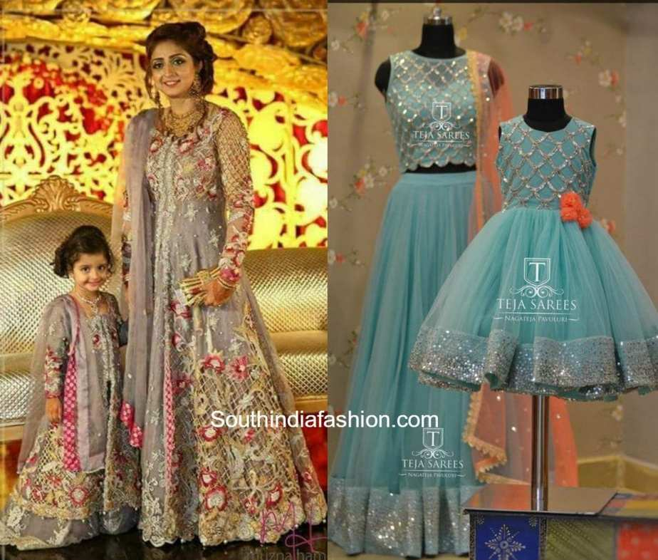Mother and daughter clothes online india