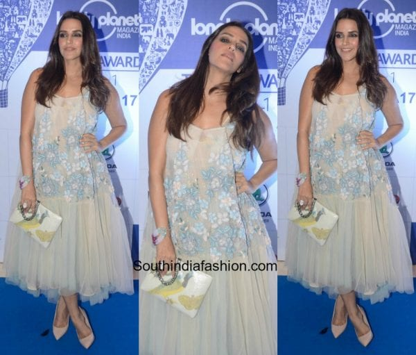 Neha Dhupia in Not So Serious By Pallavi Mohan at Lonely Planet Travel Awards