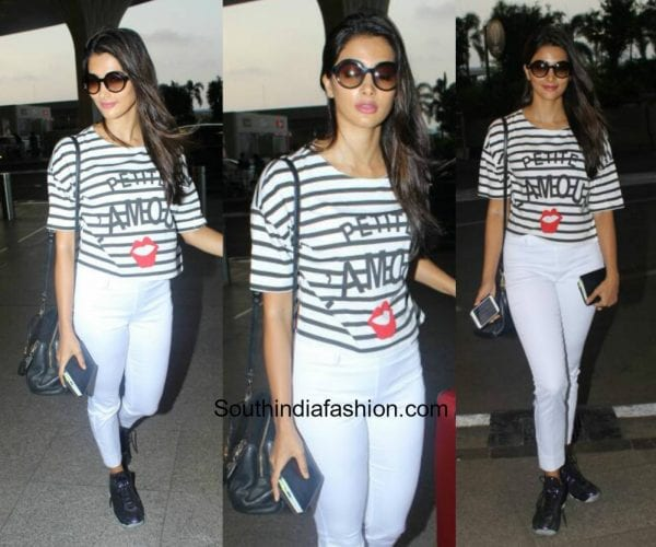 Pooja Hegde in western wear at the airport