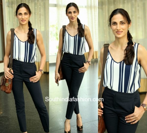 Shilpa Reddy in western wear at Interiyour Hamstech event 1