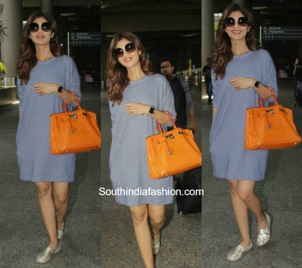 Shilpa Shetty's Casual Look at the airport