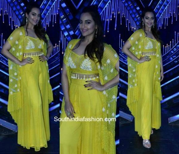 Sonakshi Sinha on the sets of Nach Baliye