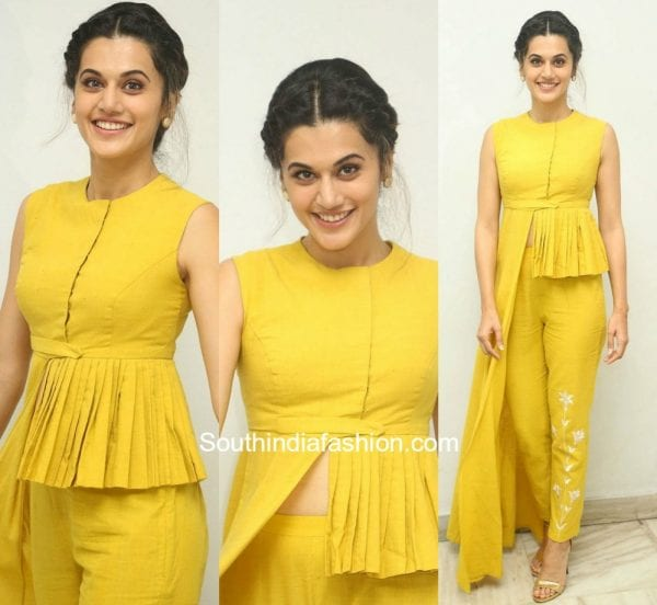 Taapsee Pannu in Divya Reddy at Anando Bhrama Poster Luanch
