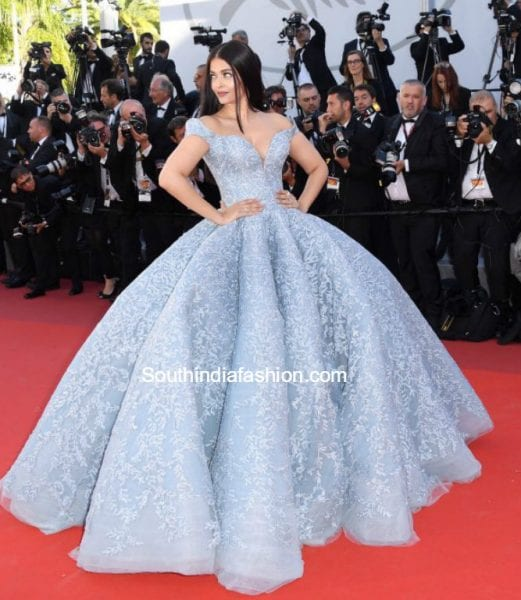 aishwarya rai blue gown cannes 2017