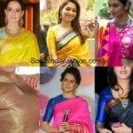 8 Stunning Blouse Patterns for Banarasi Silk Sarees