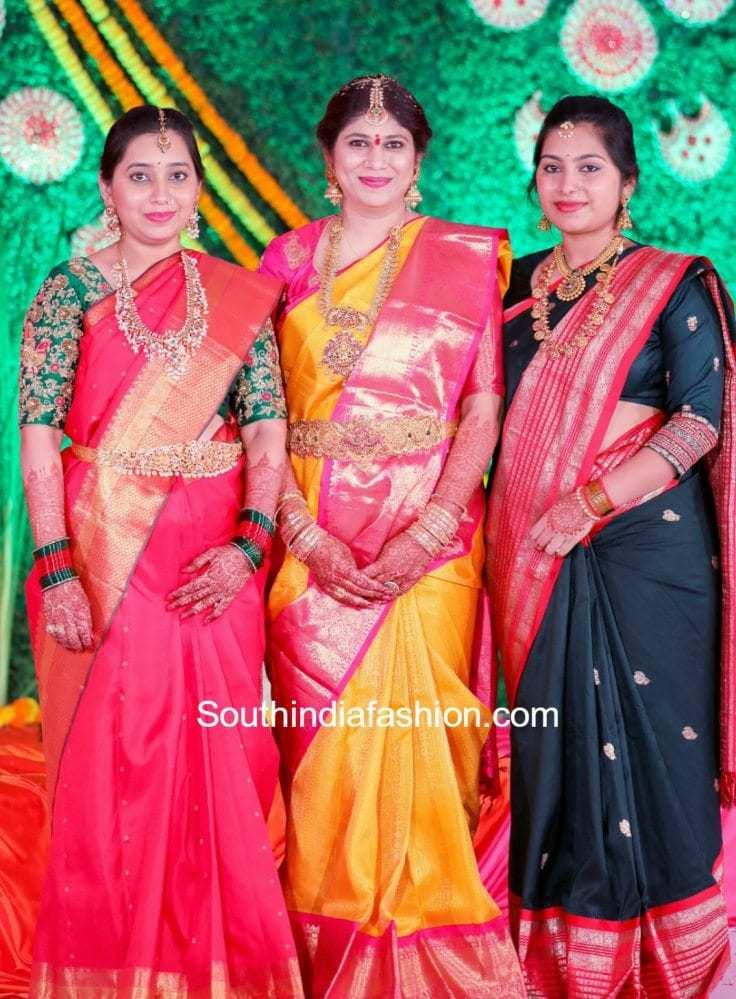 hiya-designer-swetha-reddy-daughter-half-saree-function